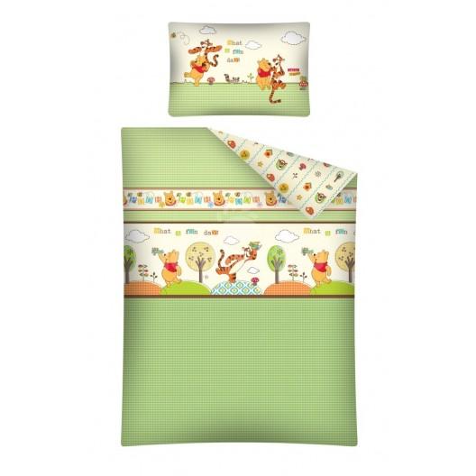 Obliečka na detskú posteľ s mackom Pu