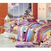 Farebná obliečka na detskú posteľ s motívmi