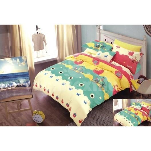 Farebné detské posteľné obliečky s motívmi