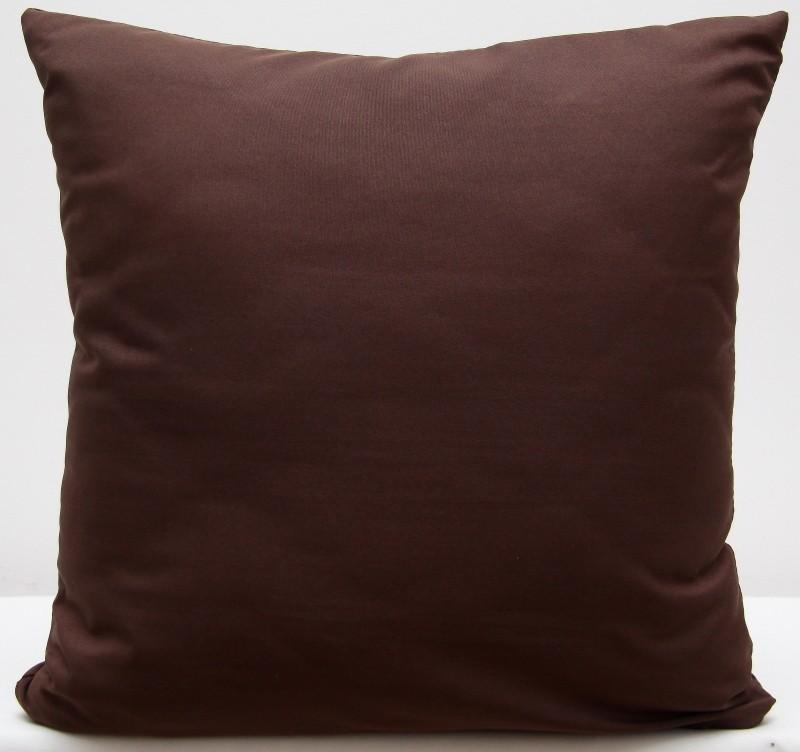 DomTextilu Hnedá dekoračná obliečka na vankúš 40 x 40 cm 40 x 40cm Hnedá 47798-220019