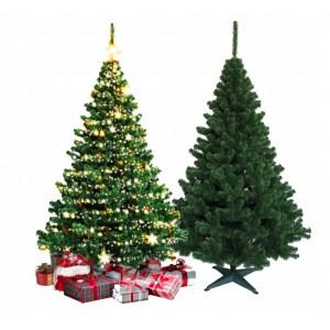 Tradičný zelený vianočný stromček 220 cm pre krásne vianočné obdobie