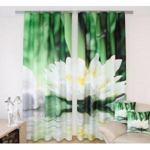 Zelený záves - Lekno 160x250 cm SKLADOM