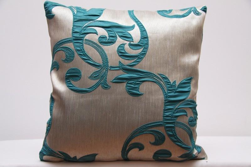 DomTextilu Dekoračné obliečky na vankúše s tyrkysovým motívom 40 x 40 cm 40 x 40cm 48275-221215