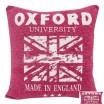 Fialová obliečka na vankúš motív Oxford