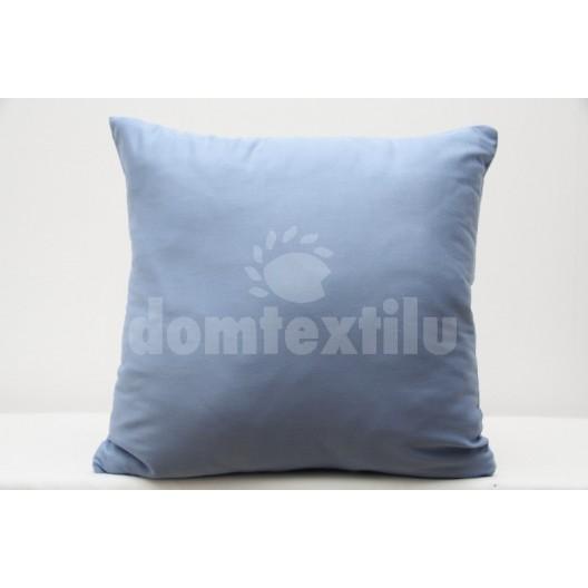 Dekoračná obliečka na vankúš modrej farby