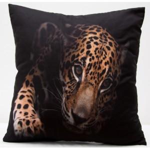 3D obliečky na vankúše leopard