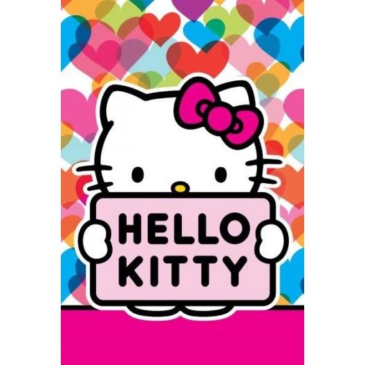 Ružové uteráky pre deti Hello Kitty