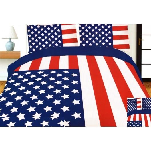 Vlajka USA posteľné obliečky