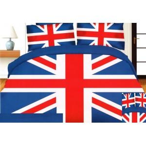 Posteľné obliečky s motívom vlajky Veľkej Británie