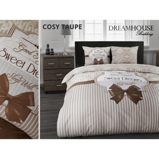 Hnedé obliečky na posteľ SLADKÉ SNY