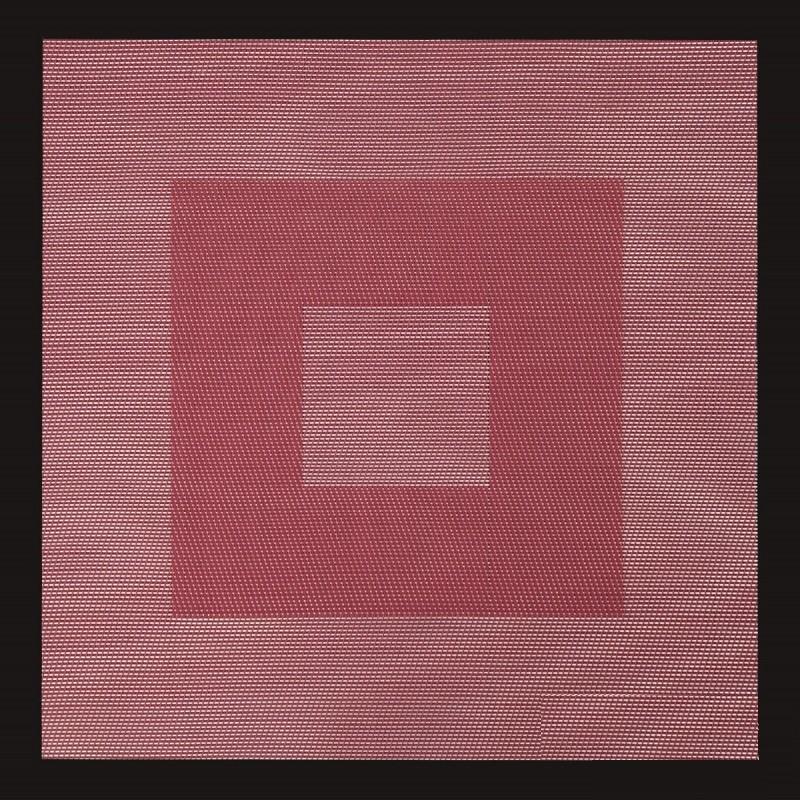 DomTextilu Štvorcové kuchynské prestieranie červenej farby na stôl 5353-14433
