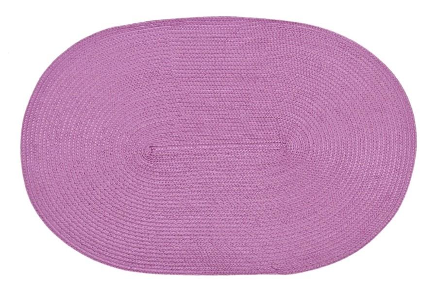 DomTextilu Ružové oválne prestierania na stôl Šírka: 30 cm | Dĺžka: 45 cm ovál 5361-14476