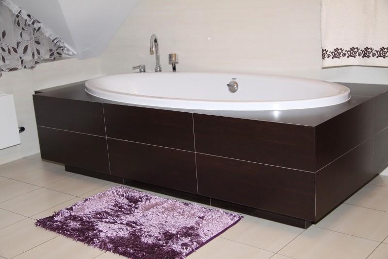 DomTextilu Moderné kúpeľňové predložky fialovej farby 5347-14344