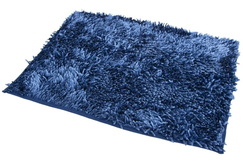 DomTextilu Kúpeľňové koberčeky v modrej farbe Šírka: 50 cm | Dĺžka: 70 cm 5349-14348