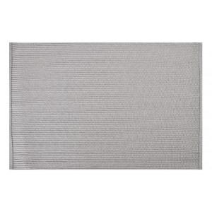 Dekoračné sivé prestieranie na stôl obdĺžnikového tvaru