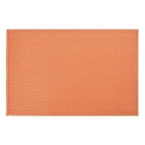 Prestieranie do kuchyne oranžovej farby obdĺžnikového tvaru