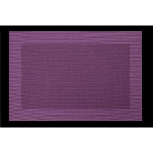 Moderné prestieranie fialovej farby na stôl obdĺžnikového tvaru