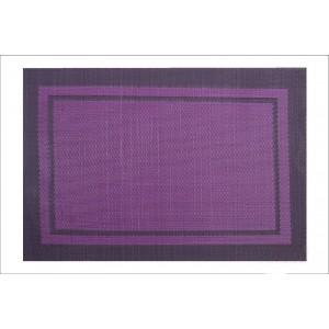 Štýlové prestieranie fialovej farby na stôl