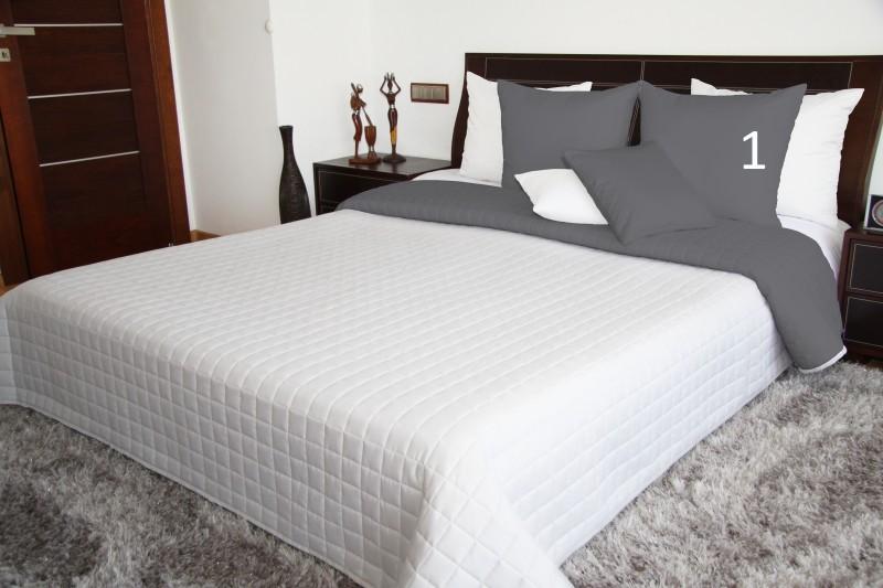 DomTextilu Biele obojstranné prikrývky na posteľ Šírka: 160 cm   Dĺžka: 210 cm 5918-102849