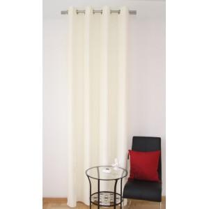 Luxusné hotové závesy na okno v krémovej farbe