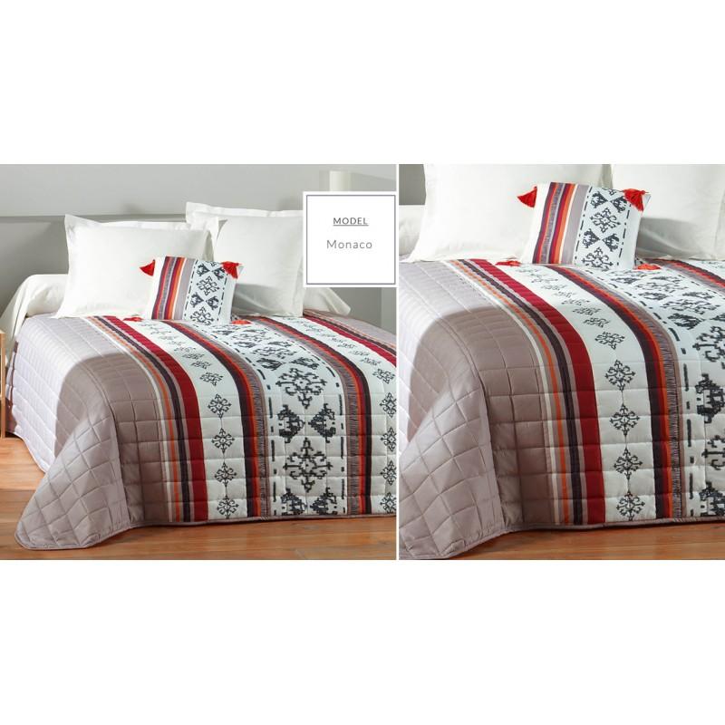 c201d469595d Francúzsky prehoz na posteľ krémovej farby - domtextilu.sk