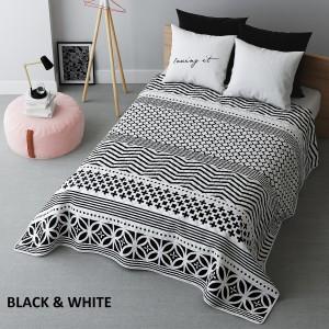 Francúzsky prehoz na posteľ so vzormi
