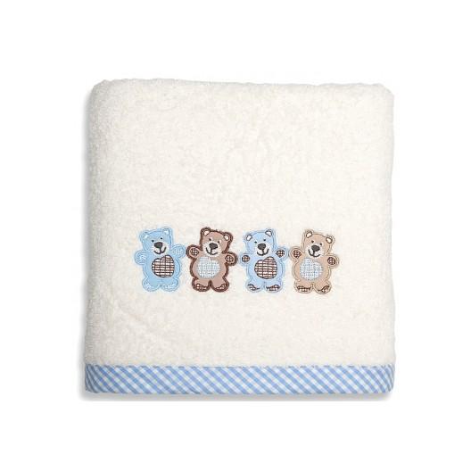 Bavlnené osušky s detským motívom mackov