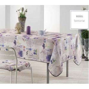 Obrus na kuchynský stôl s motívom levandule