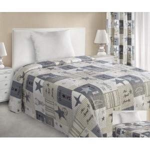 Patchwork prehoz na posteľ 170x210 cm