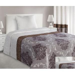Biele obojstranné prikrývky na posteľ Vintage