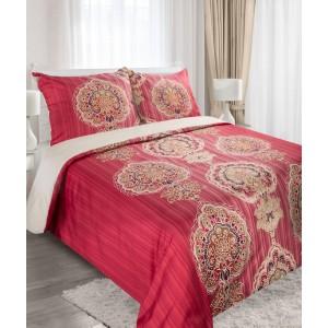 Červené posteľné obliečky 160 x 200 cm
