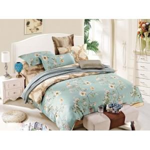 Béžové obojstranné posteľné obliečky VINTAGE
