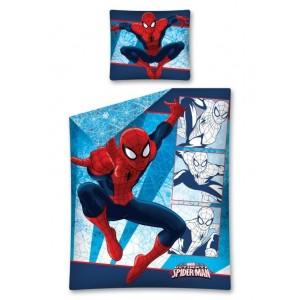 Modré chlapčenské posteľné obliečky SPIDERMAN