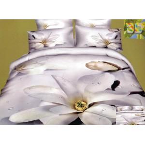 3D posteľné obliečky s kvetom