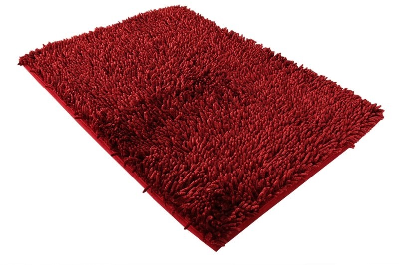 DomTextilu Kúpeľňová predložka v bordovej farbe 7273-19865