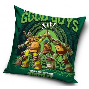 Zelená obliečka na vankúš Ninja korytnačky