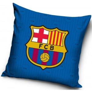Modrá obliečka na vankúš FC Barcelona