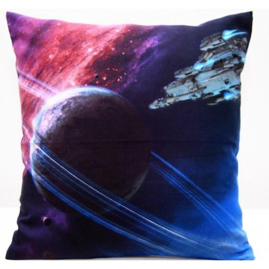 Dekoračná obliečka na vankúš s motívom galaxie