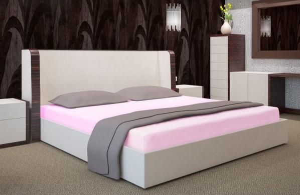 DomTextilu Svetlo ružové prestieradla na postele Šírka: 90 cm | Dĺžka: 200 cm 7507-20365