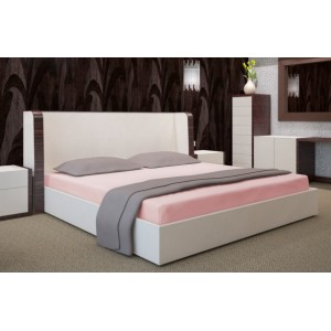 Bavlnená lososová plachta na posteľ