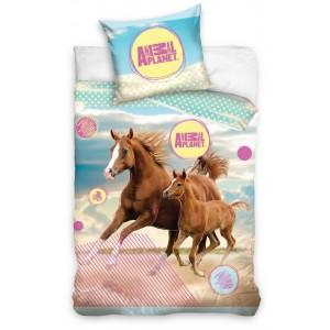 Detské posteľné obliečky s motívom koní