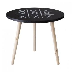 Dekoračný stolík s motívom piškvoriek