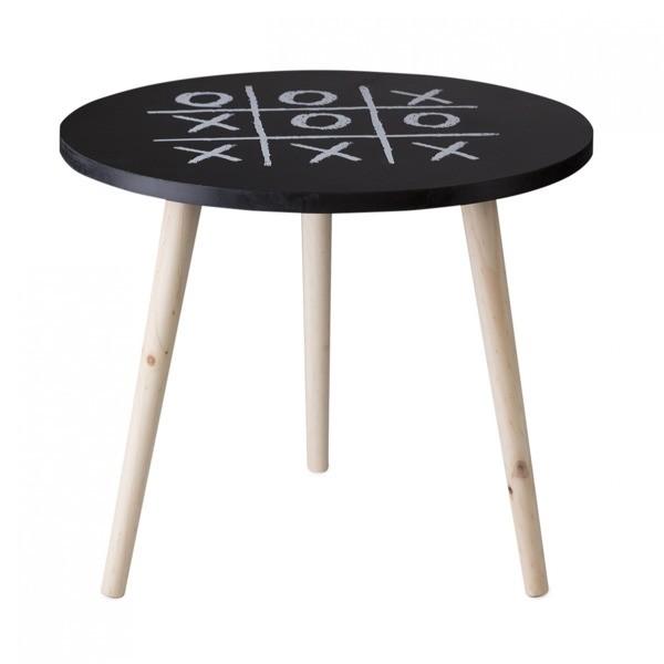 DomTextilu Dekoračný stolík s motívom piškvoriek 7806