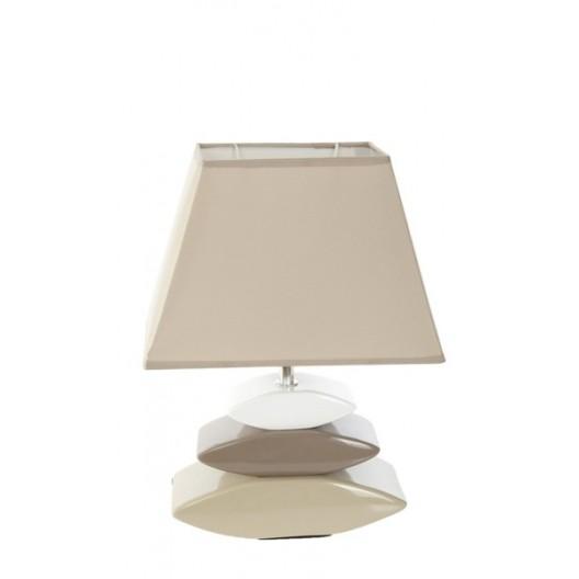 Moderné stolové lampy béžovej farby