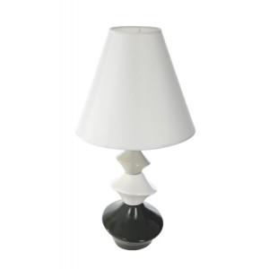 Lampa na nočný stolík bielej farby
