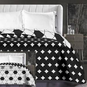 Moderné prehozy na posteľ v bielej farbe