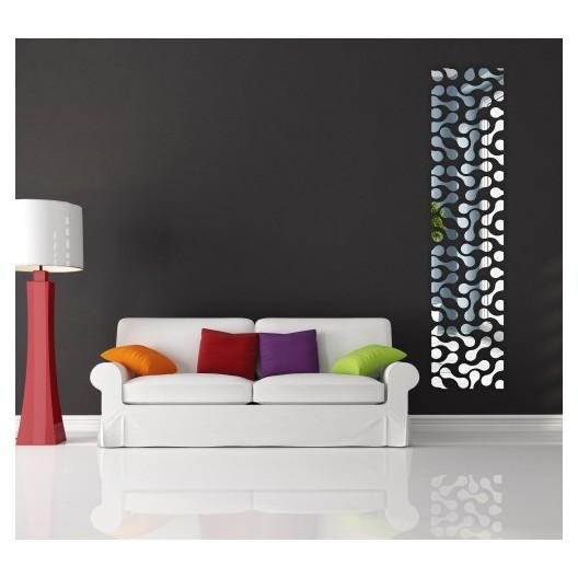 Nalepovacie dekoračné zrkadlá na stenu
