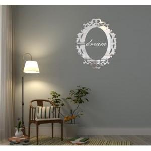 Luxusné zrkadlo s nápisom dream