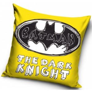 Žltá detská obliečka s motívom Batman