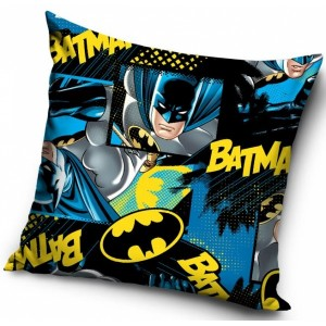Čierne obliečky na detský vankúšik Batman